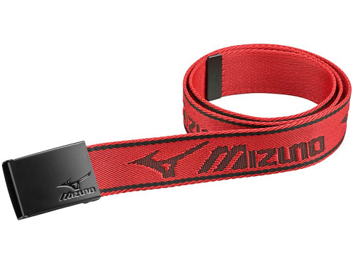 Mizuno Webbed Belt - Chilli Pepper