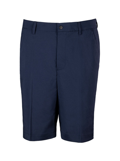 Greg Norman Woven Solid Stretch Short - Navy