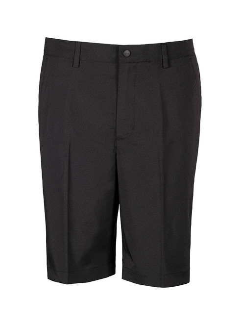 Greg Norman Woven Solid Stretch Short - Black