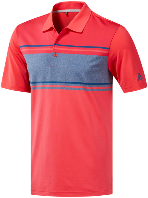 Adidas Ultimate 2.0 Classic Merch Polo - Shock Red/Dk Marine