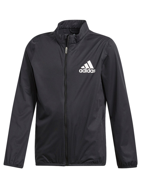 Adidas JR Climastorm Jacket - Black