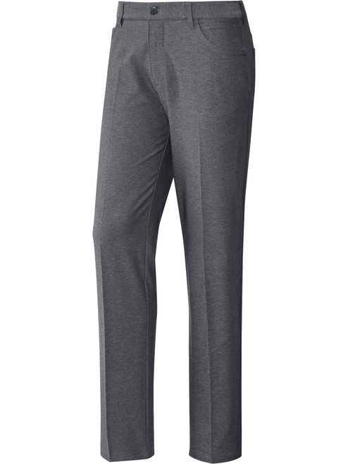 Adidas Ultimate Heather 5-Pocket Pant - Grey Three Htr