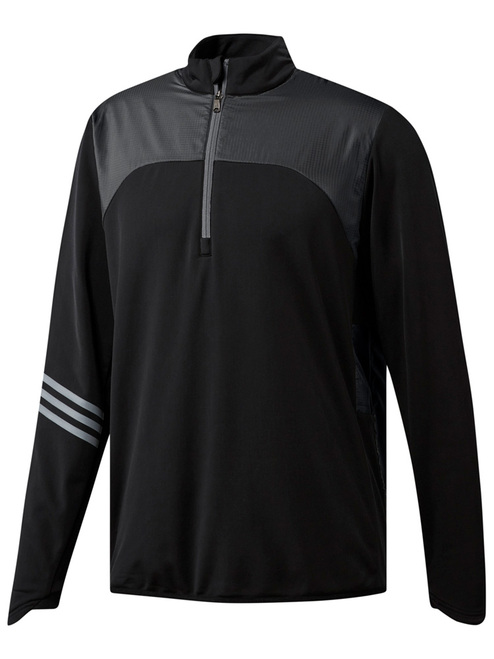 Adidas Climaheat Frostguard 1/4 Zip Pullover - Black