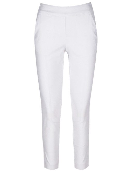 Greg Norman W Perfect Fit Slimming Pant - White