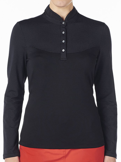 Nivo Ladies Calista Long Sleeve Mock - Black