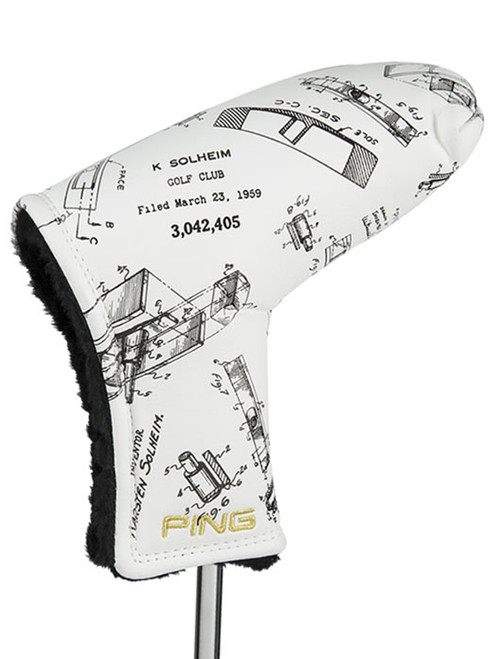 PING 1A Patent Drawing Blade Putter Cover