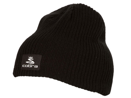 Cobra Reversible Knit Beanie - Grey Heather