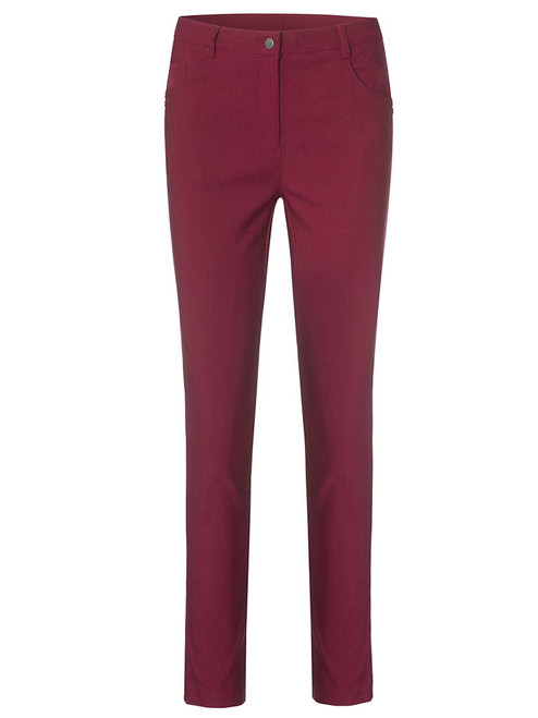 Cross W Stretch High Water Pant - Rumba Red