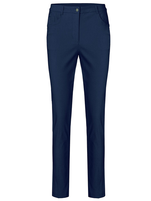 Cross W Stretch High Water Pant - Navy