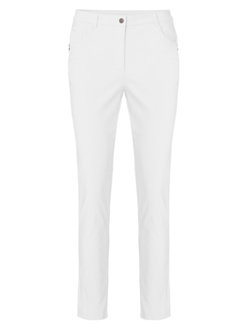 Cross W Stretch High Water Pant - White