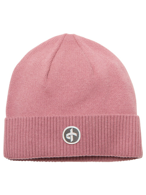 Cross M/W Beanie - Old Pink
