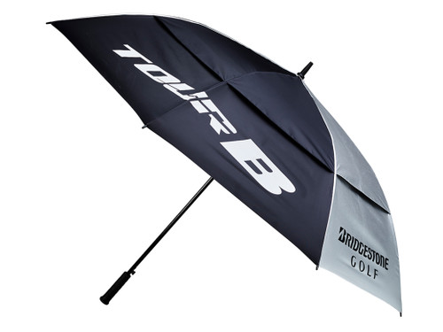 Bridgestone Tour Umbrella - Silver/Black