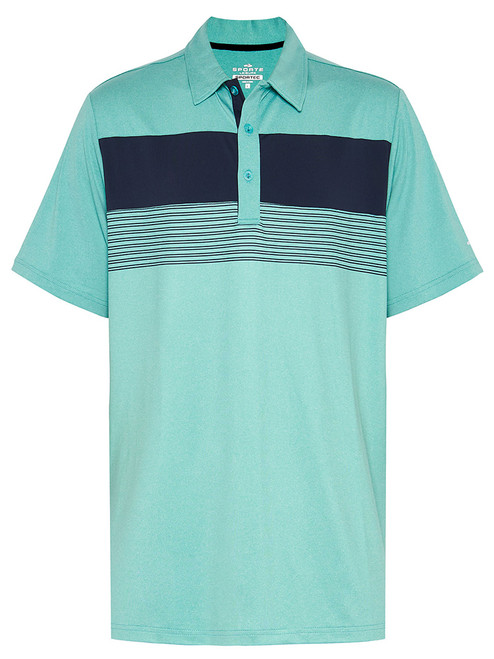 Sporte Leisure Sportec Penn Polo - Baltic Green