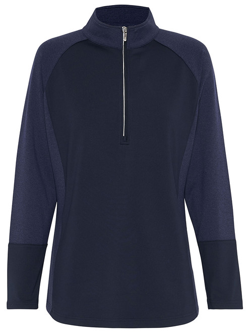 Sporte Leisure W Thermo-Tec Warm Pullover - French Navy