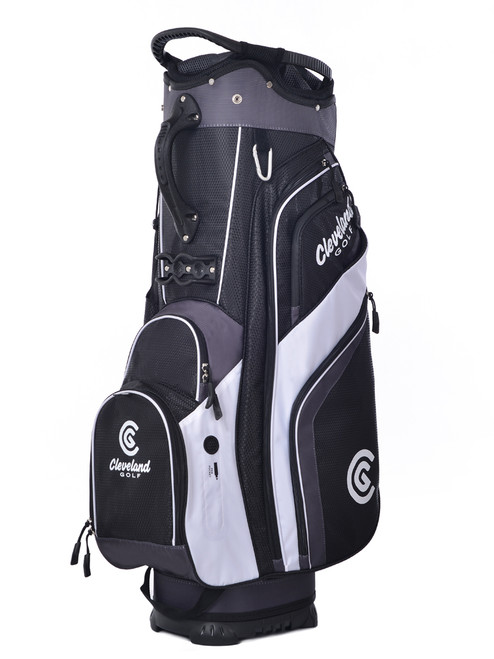 Cleveland Cart Bag - Black/Charcoal/White