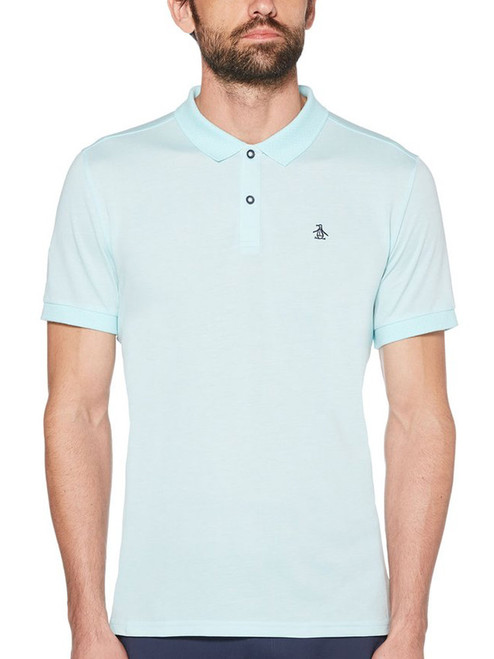 Original Penguin The Birdseye View Polo - Tanager Turquoise
