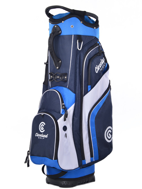 Cleveland Cart Bag - Navy/Royal/White