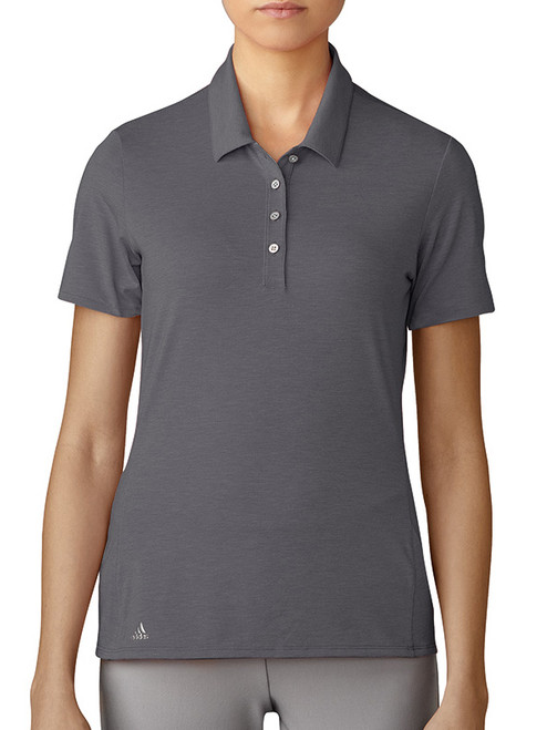 Adidas W Cotton Hand Polo - Trace Grey
