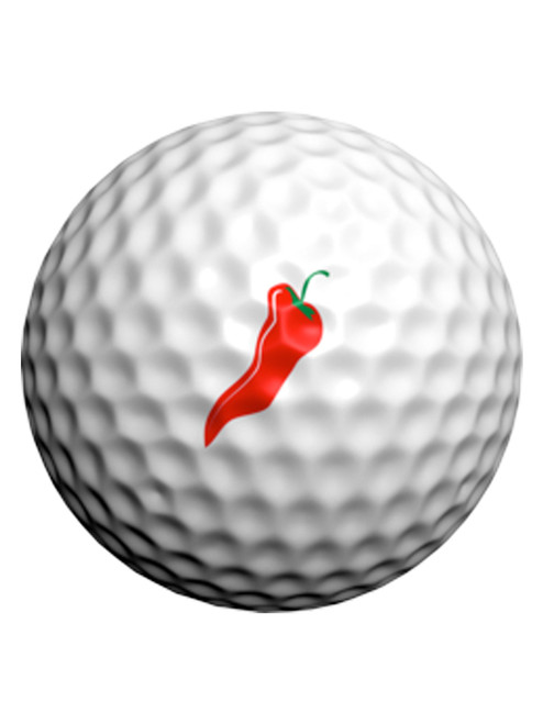 Golfdotz Red hot Chili Peppers - 24 Pack