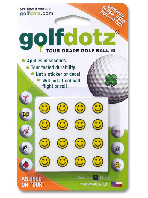 Golfdotz Be Happy - 32 Pack