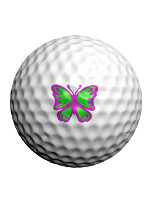 Golfdotz Monarch Butterfly - 24 Pack