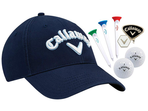 Callaway Tour Hat Gift Set - Navy