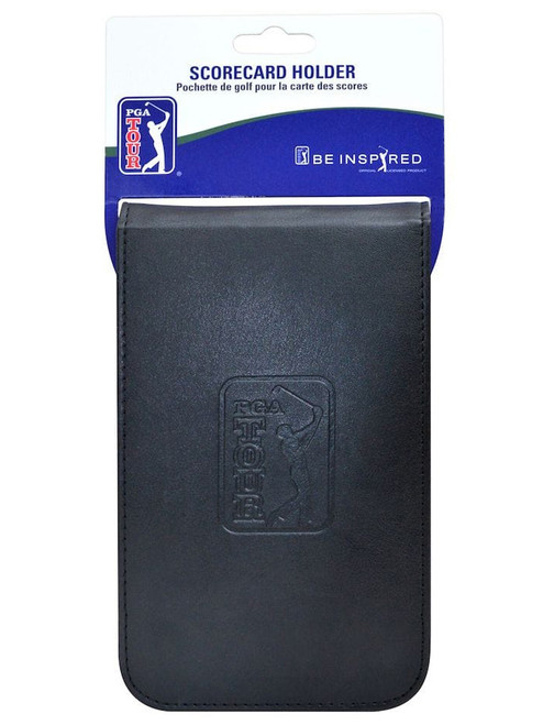 PGA Tour Scorecard Holder - Black