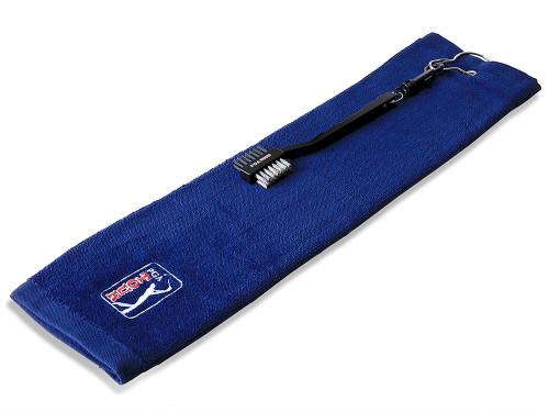 PGA Tour Towel & Club Brush Set
