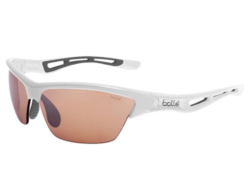 Bolle Tempest Photo V3 Golf Sunglasses - Shiny White