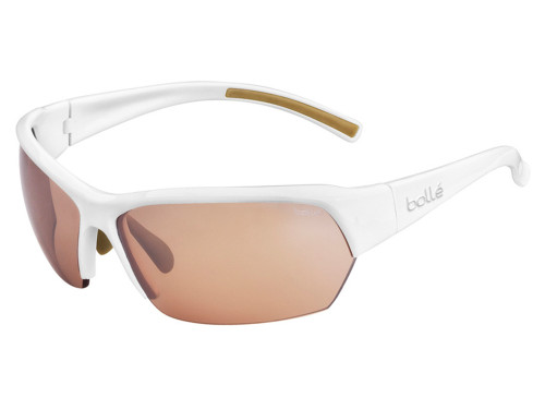Bolle Ransom Photo V3 Golf Sunglasses - Shiny White