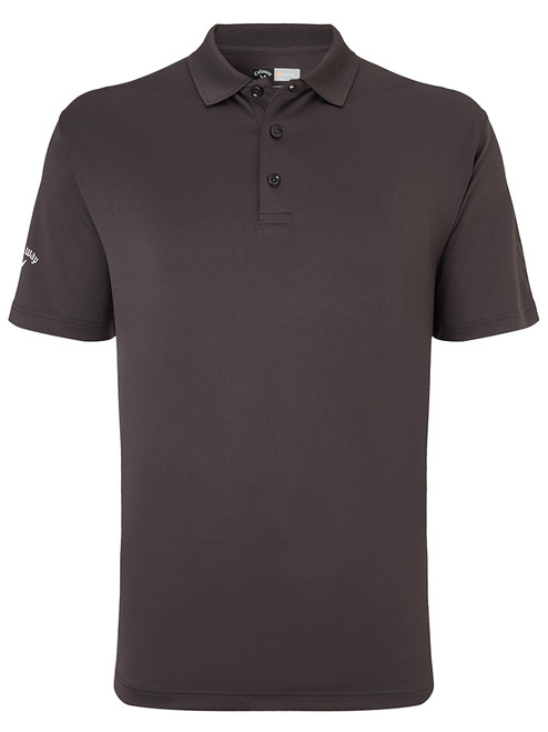 Callaway Hex Opti Stretch Polo - Asphalt