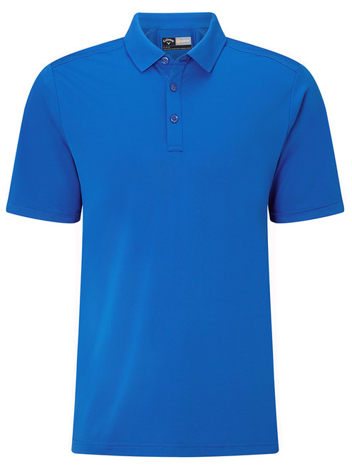 Callaway Hex Opti Stretch Polo - Magnetic Blue