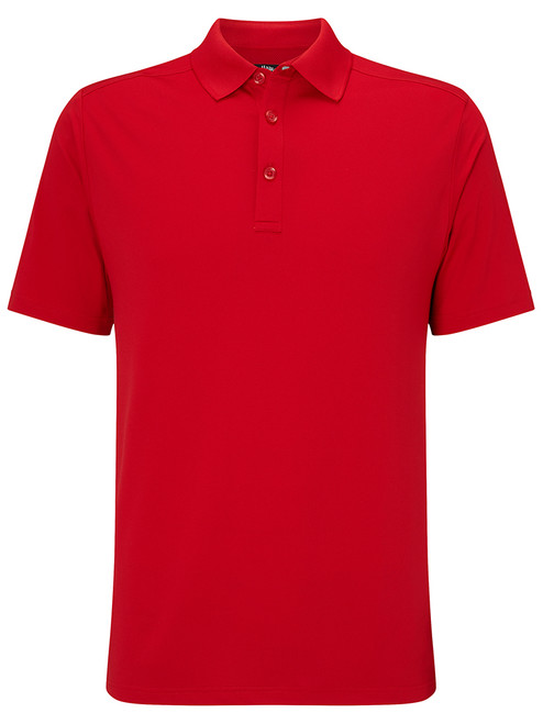 Callaway Hex Opti Stretch Polo - Tango Red