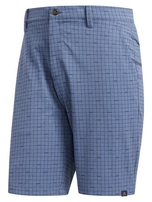 Adidas Ultimate365 Plaid Short - Tech Ink