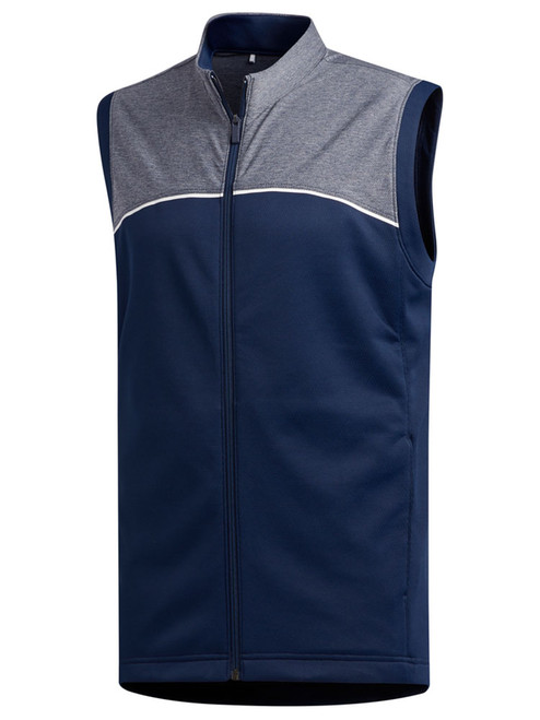 Adidas Go-To Zip Vest - Collegiate Navy