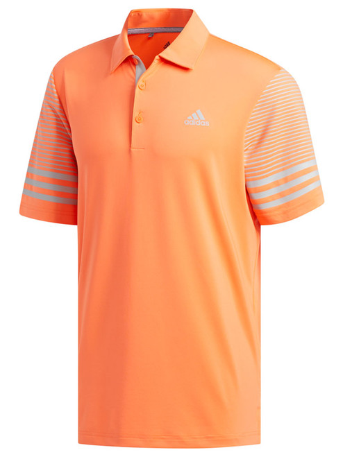 Adidas Ultimate365 Gradient Polo - Hi-Res Coral