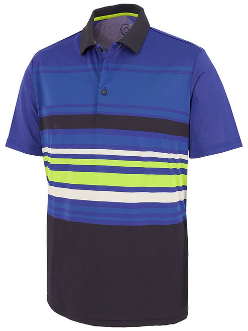 Galvin Green Miguel Polo - Navy/Surf Blue/Kings/Lime