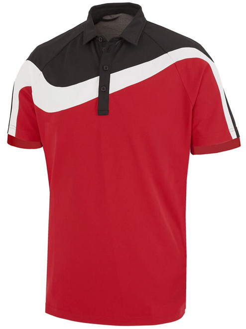 Galvin Green Magnum Polo - Red/Black/White