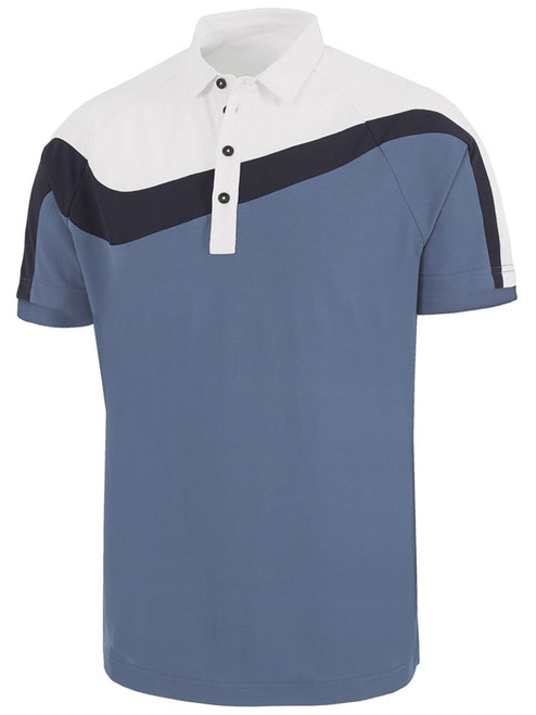 Galvin Green Magnum Polo - Ensign Blue/White/Navy