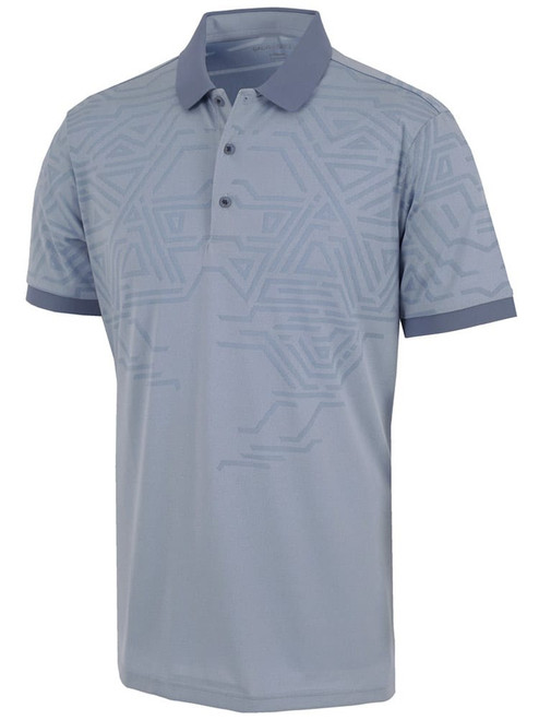 Galvin Green Merell Polo - Faded Denim