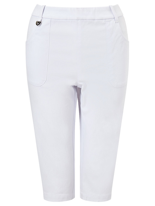 Callaway W Chev Pull On City Short II - Brilliant White