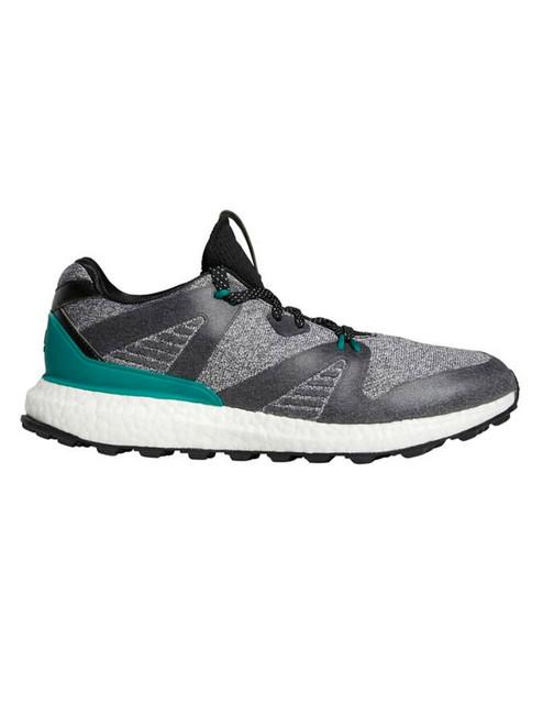Adidas Crossknit 3.0 Golf Shoes - Core Black/Sub Green