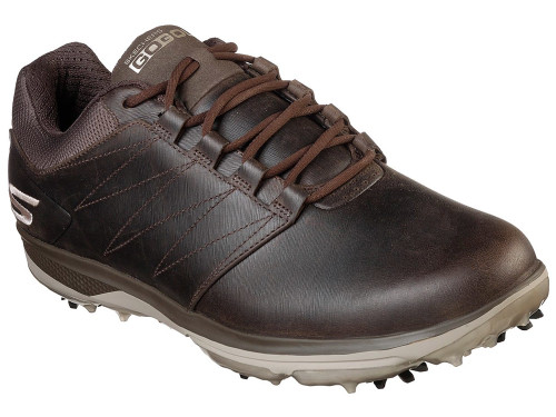 Skechers Go Golf Pro 4 LX Golf Shoes - Chocolate