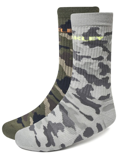 Oakley Camou 2 Pairs Of Socks - Core Camo