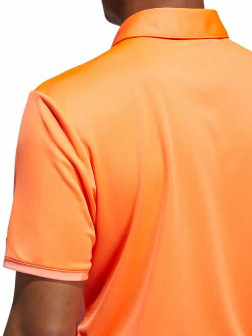 Adidas Badge Polo - Hi-Res Coral