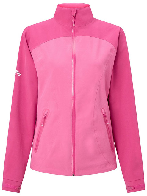 Callaway W Liberty Waterproof Jacket - Magenta