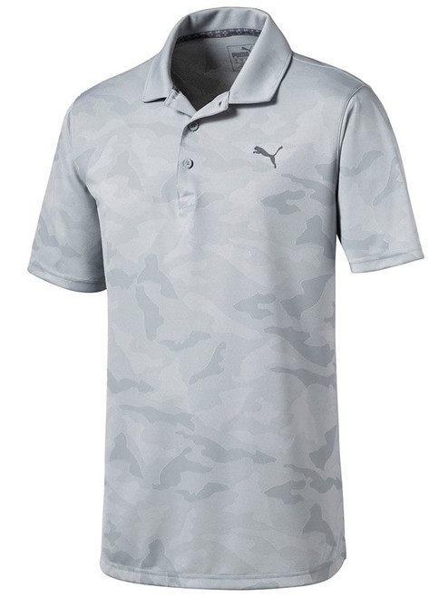 Puma Alterknit Camo Polo - Quarry