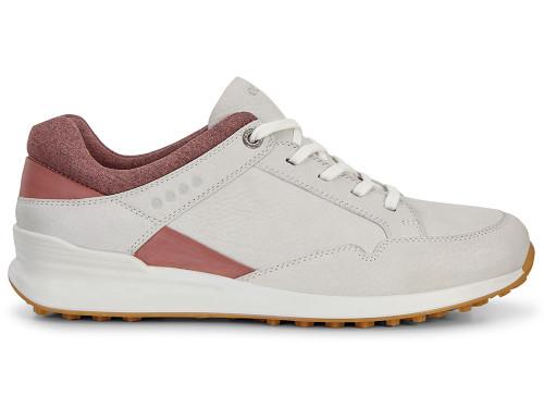 Ecco W Street Retro Golf Shoes - Shadow White