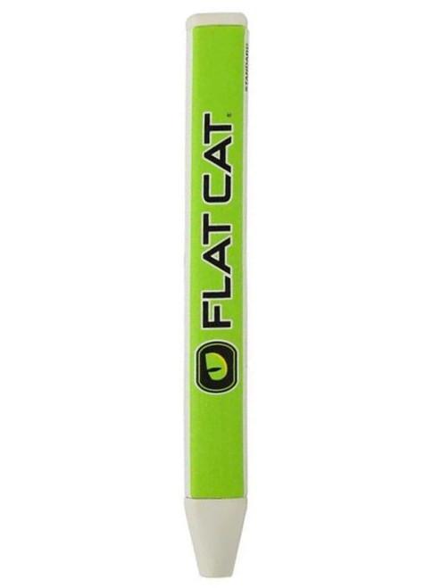 FLAT CAT Original Putter Grip Std - White/Green