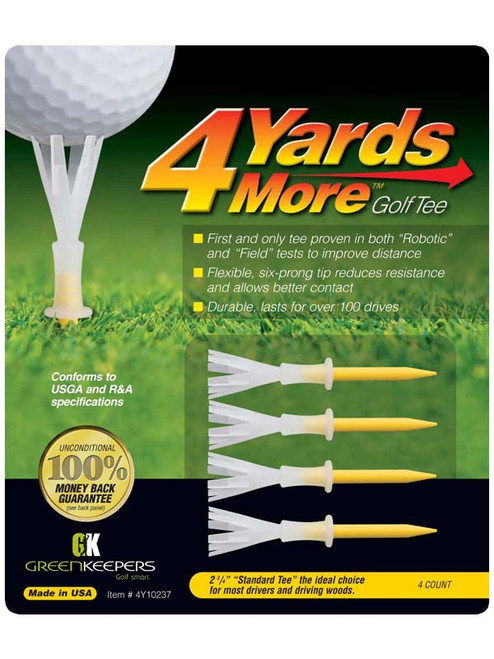 4YARDSMORE Golf Tees 4 Pack 2.75 Inch